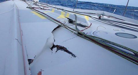 """Das Deck ist nahezu """"explodiert"""". © Ruyant"""