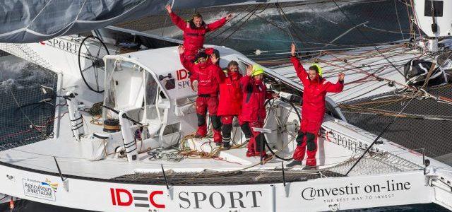 Fabelweltrekord für das IDEC-Team. © JM Liot / DPPI / IDEC SPORT