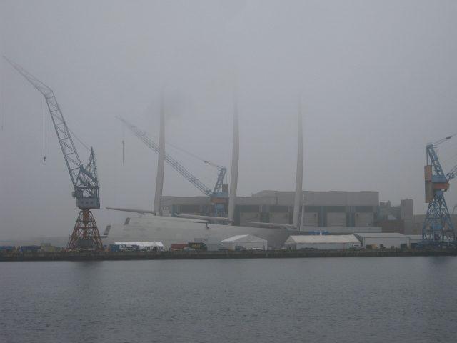Sailing Yacht A, Übergabe