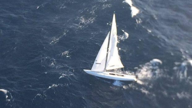 Sydney, treibende Yacht, Rettung