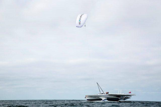 Odyssee Race for Water, Skysails, Kite, keine Verbrennungsmotoren