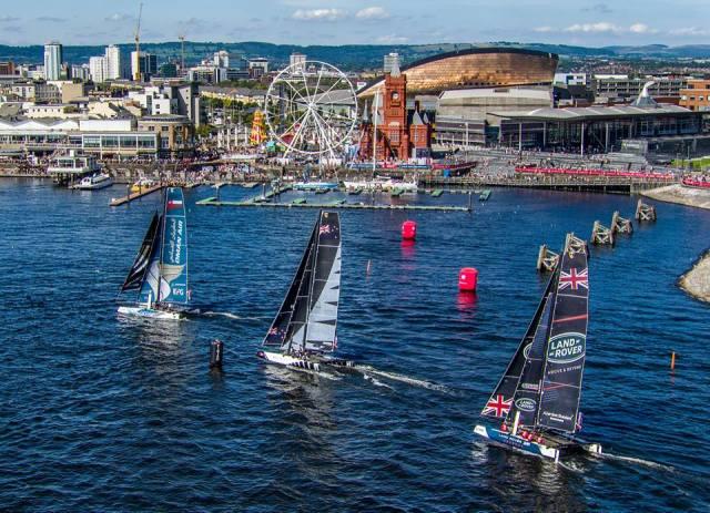 Extreme Sailing Series Cardiff