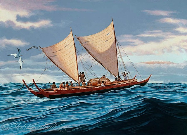 Polynesien, Navigation,