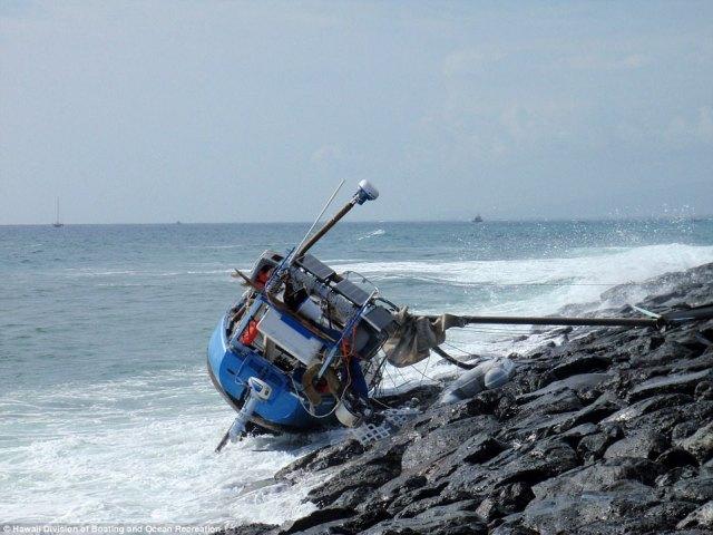 Schiffbruch, fünf Monate,