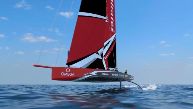 36. America's Cup, AC75