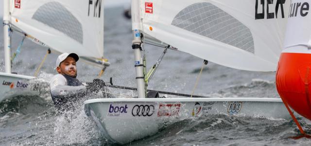 Kieler Woche, Laser Standard, Philipp Buhl