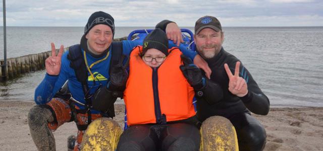 Paralympics, Verein, Wassersport für Behinderte