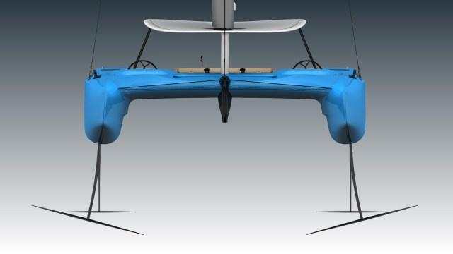 Luxus Katamaran, Flügel,
