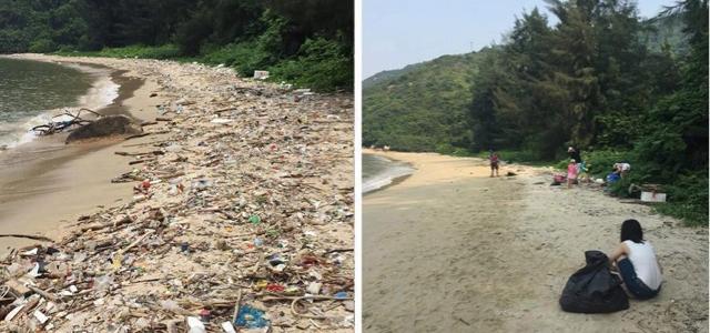 trashtag, Müll, Strand, Meeresverschmutzung