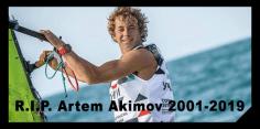 RS:X Surfer, Artem Akimov