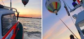 DGzRS, Heißluftballon