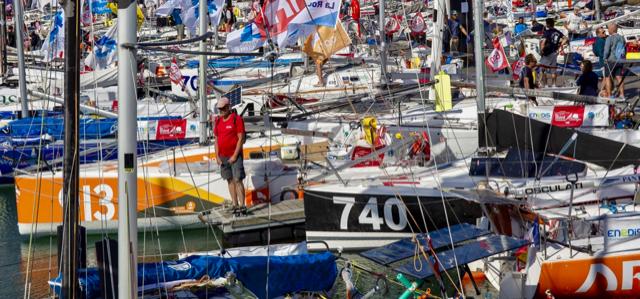 Mini Transat, Vorbereitung, La Rochelle
