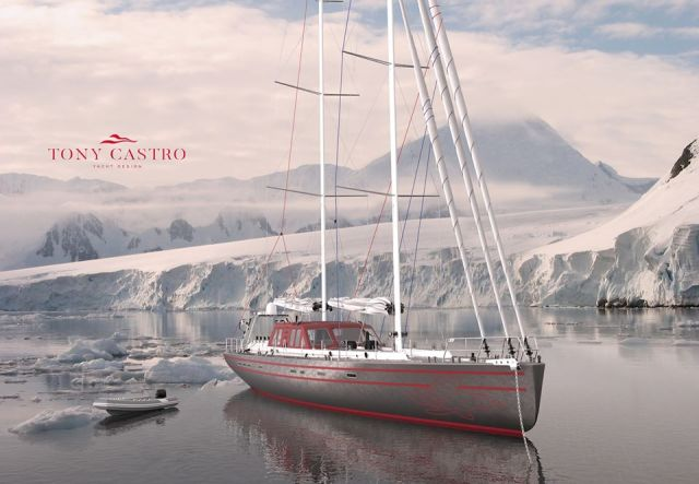 Pelagic 77 im Eis