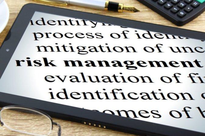 estrutura de gerenciamento de risco