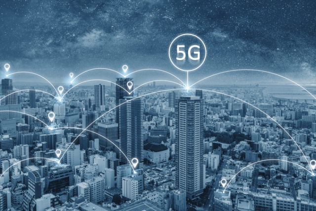 mundo virtual conexões de rede rápidas e confiáveis 6g