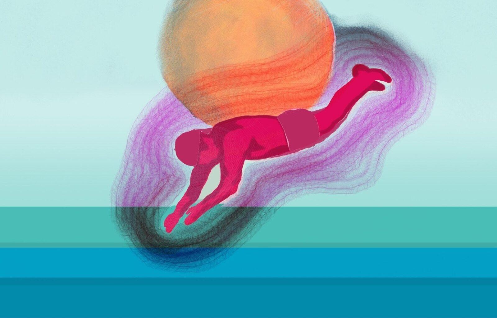 Sull'Urgenza, Illustrazione di Luigi De Cicco, @MarcozziContemporaryTheater