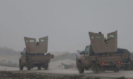 Российские военные рассказали об отбитой в Сирии атаке сотен боевиков на пикапах
