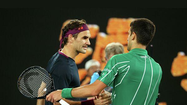 Новак Джокович победил Федерера и вышел в финал Australian Open