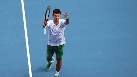 Джокович вышел в четвертьфинал Открытого чемпионата Австралии