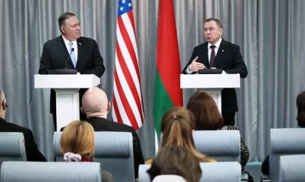 Лукашенко рассказал о поднятом Москвой скандале из-за визита Помпео в Белоруссию