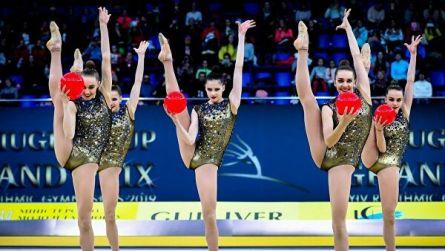 Украинские гимнастки выступят на московском этапе Гран-при