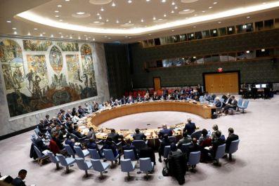 США, Франция и Великобритания запросили брифинг СБ ООН по ситуации в Идлибе