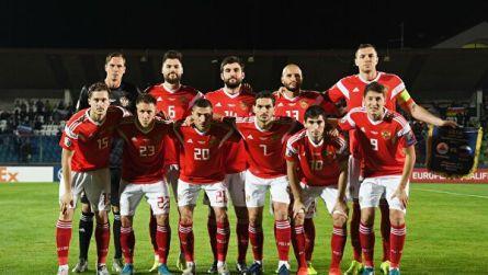 Сборная России осталась на 38-м месте в мировом рейтинге ФИФА