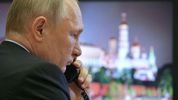 Кремль: в графике Путина сейчас нет планов разговора с Трампом