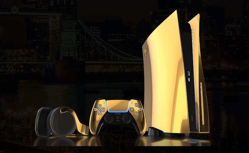 PlayStation 5 DeLuxe — из золота и платины