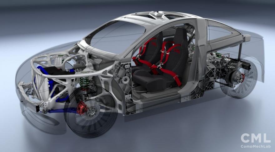 Созданный в Петербурге электромобиль запустят в массовое производство к концу года
