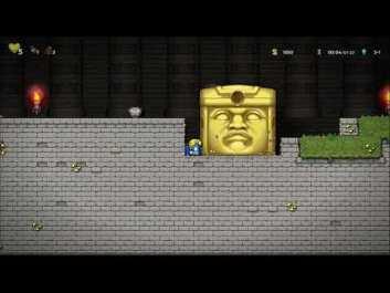 Спидраннер «уничтожил» хардкорную Spelunky 2. Он прошёл игру менее чем за три минуты