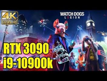 NVIDIA GeForce RTX 3090 не смогла выдать 4K @ 60 fps в хакерской Watch Dogs Legion