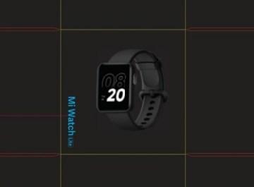 Дизайн и характеристики смарт-часов Xiaomi Mi Watch Lite раскрыты до анонса
