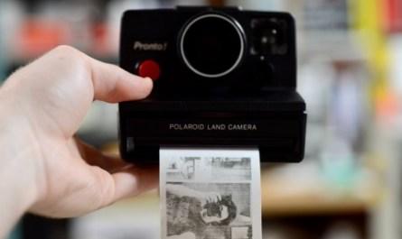 Энтузиаст превратил древний Polaroid Pronto в цифровой фотоаппарат