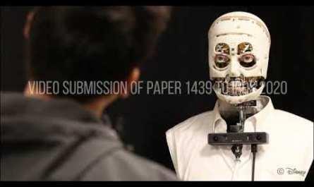 Инженеры The Walt Disney создали реалистичного, но жуткого робота [ВИДЕО]
