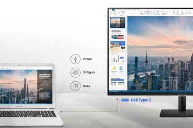 Samsung представила умные мониторы с поддержкой Smart TV