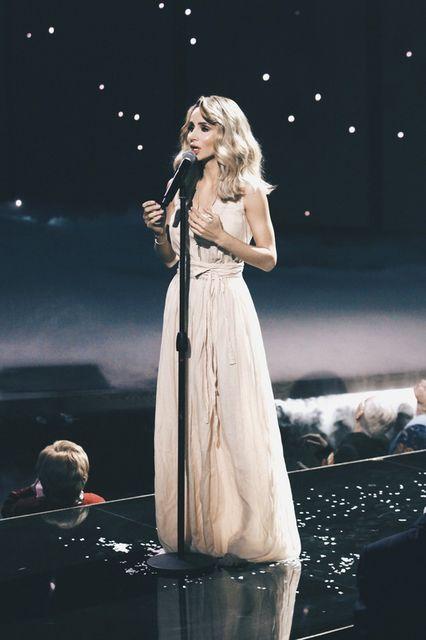 Светлана Лобода не сдержала слез на концерте в День Победы