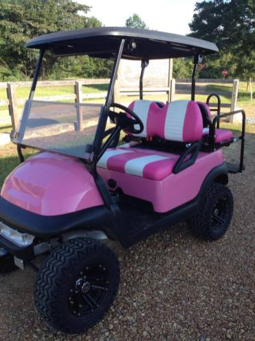 Pink Ladies Cart