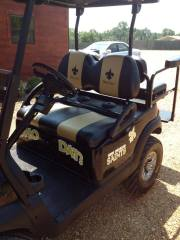 saints-golf-cart