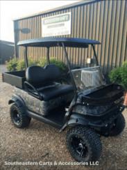 Camo golf cart