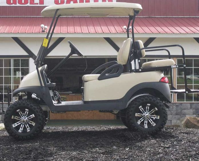 Artic White Club Cart
