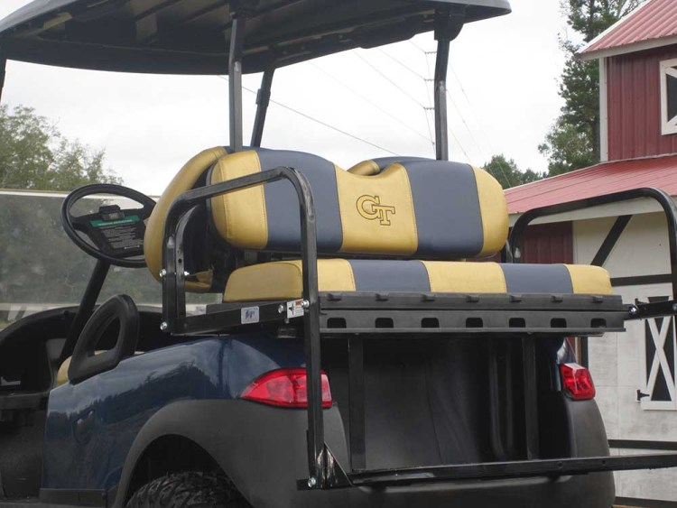 Custom Georgia Tech Club Cart