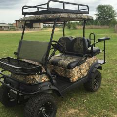 Custom-Golf-Cart-Hunting-ATV-Camoflauge