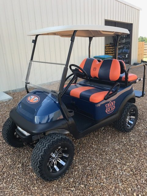 Custom Auburn Golf Carts on auburn university golf club clothing, auburn university club golf course, beach buggy cart,