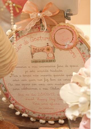 Atelier De Costura Como Tema Da Festa Segredos Da Vov 243