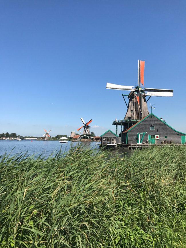 Zaanse Schans, vilarejo fofo e bem típico holandês pertinho de Amsterdam