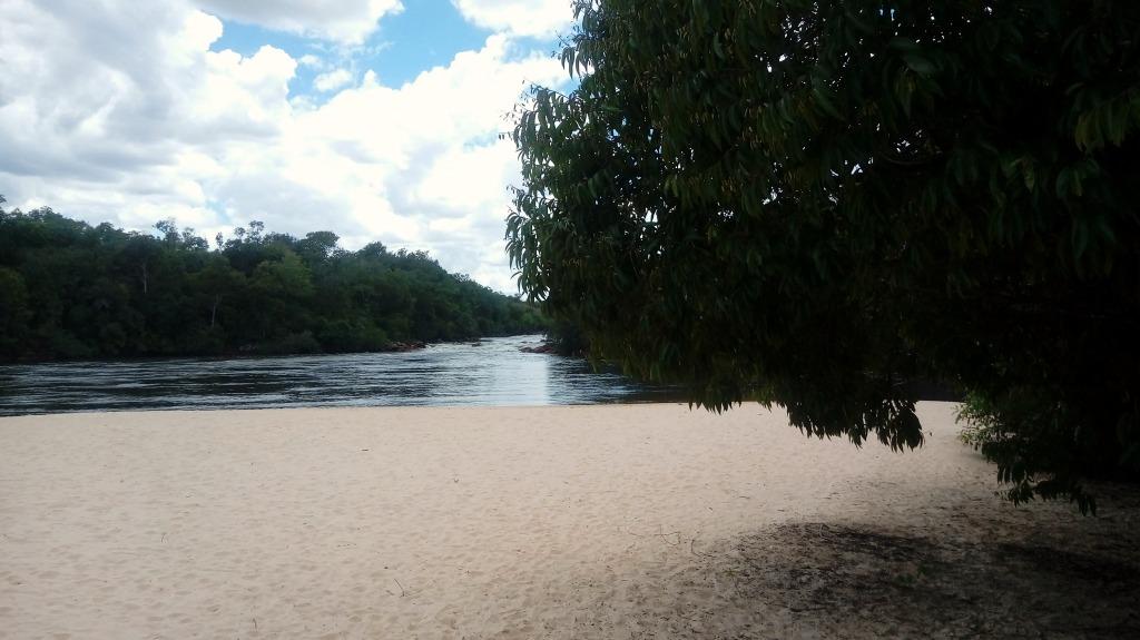 Prainha do Rio Novo, no Jalapão, em Tocantins