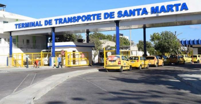 Resultado de imagen para terminal de transporte de santa marta