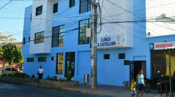 Resultado de imagen para clinica la castellana santa marta