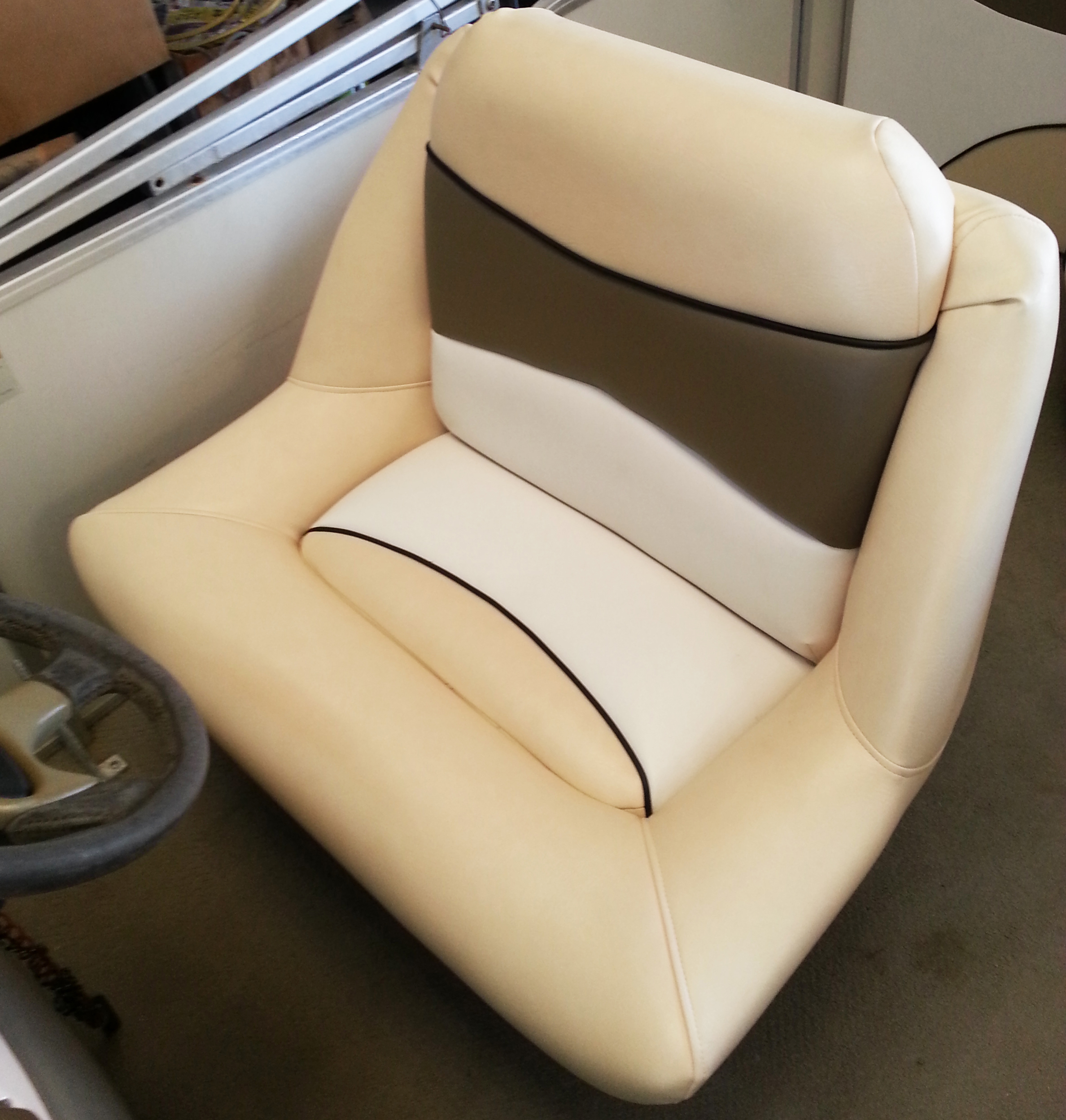 replacement captains chairs for boats discount office chair marine upholstery